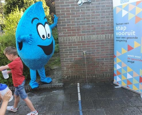 Watertappunten dankzij donatie Ledenfonds